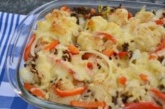 Cauliflower from the oven - Brenda Boils! - As the daughter of a cauliflower-maker (grower for non-West Frisians), I naturally cannot make it ( - Oven Recipes, Dinner Recipes, Cooking Recipes, Best Oven, Good Food, Yummy Food, Foods With Gluten, Best Breakfast, High Tea
