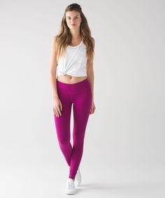 Women's Yoga Pants - (Pink, Size 12) - Wunder Under Pant III - lululem