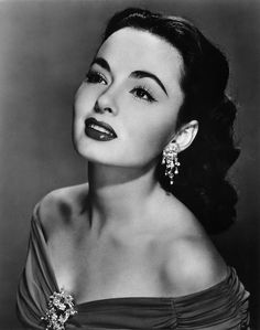 Ann Blyth, Ca. 1950s when I was young I liked her and she had a beautiful voice