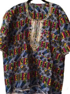Dashiki Drum Print Shirt
