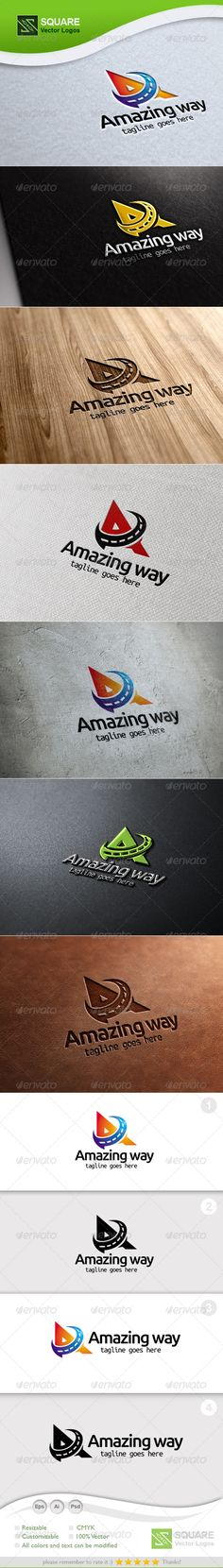 A Way Vector - Logo Design Template Vector #logotype Download it here: http://graphicriver.net/item/a-way-vector-logo-template/5414471?s_rank=1293?ref=nexion