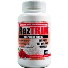 Raspberry Ketone   Raztrim   Advanced Weight Loss Supplement   500mg Professional Rk Blend   90 Capsules