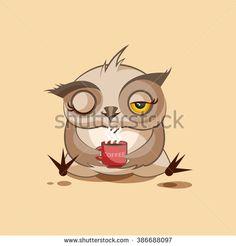 Stock Images similar to ID 85761157 - owl icon logo design