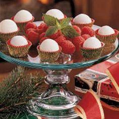 Raspberry Truffles