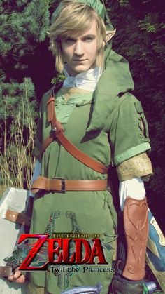 Link - The Legend of Zelda : Twilight Princess by AlasioHYLIA on DeviantArt Link Cosplay, Zelda Twilight Princess, Festival Outfits, Legend Of Zelda, Cute, Fictional Characters, Amazing, Legends, Kawaii
