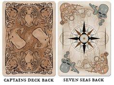 Seven Seas Playing Cards by Brain Vessel Creative — Kickstarter