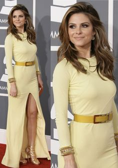 Maria Menounos at the 55th Annual Grammy Awards held at Staples Center in Los Angeles, California on February 10, 2013