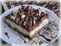 Recept Kókuszos-túrós reszelt sütemény