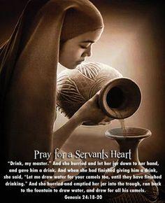 servants heart.....