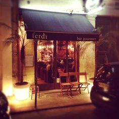 Ferdi, Paris - one of the best burgers i've ever had and exquisite Maritni's! cute place, decorated with old toys that belong to the owner's son...