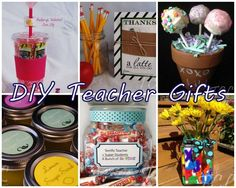 Homemade Teacher Appreciation Gift Ideas