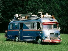 Cool old motorhome