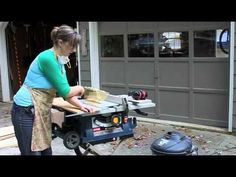 How to Use a Table Saw Tutorial, via @Brittany (aka Pretty Handy Girl)