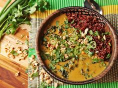 West African Peanut Soup Meets Khao Soi. Extra Nuttiness Ensues. | Serious Eats