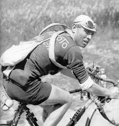 cadenced: Lucien Buysse who won the longest edition of the Tour de France in 1926 with a length of 5,745 kilomtres.
