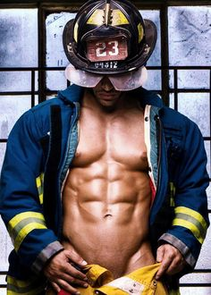 Firefighter by Michael Stokes Hot Men, Sexy Men, Spartacus, Michael Stokes Photography, Men In Uniform, Hot Hunks, Raining Men, Good Looking Men, Muscle Men