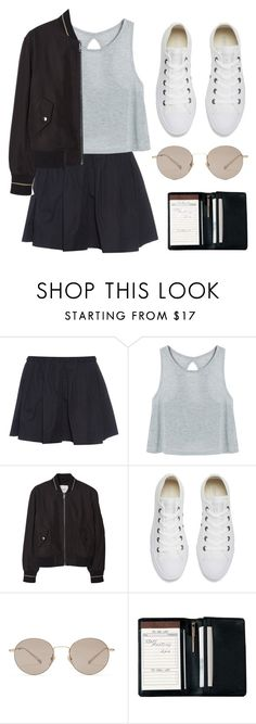 """""""I'm back!"""" by soym ❤ liked on Polyvore featuring Marc Jacobs, MANGO, Converse, Gucci and Royce Leather"""