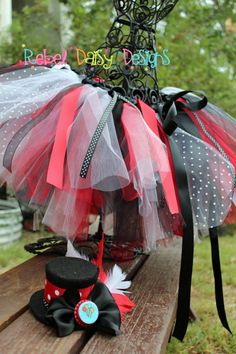Boutique Halloween Tutu Costume Circus Ring by RebelDaisyDesigns, $50.00....I really really like this one