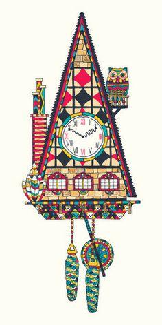 Cuckoo Clock No. 2 | thefantasticthe