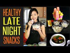 10 Healthy LATE NIGHT Snacks (Under 100 Calories) http://www.youtube.com/watch?v=k5pkf5rcP9U
