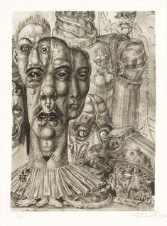 Eduard Wiiralt, Põrgu. Detail II., 1930-32