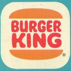 Old school Burger King ...a special place my dad took me when mom worked late...