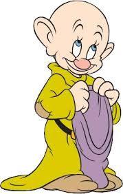 Dopey from Snow White and the Seven Dwarfs : Bald Men of Style Arte Disney, Disney Love, Disney Magic, Disney Cartoon Characters, Disney Cartoons, Fictional Characters, Old Cartoons, Classic Cartoons, Snow White Dwarfs