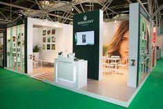 Lo stand di Herbatint a Cosmoprof Worldwide Bologna nel 2015