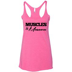 268702e33 Muscles and Mascara Tank Top