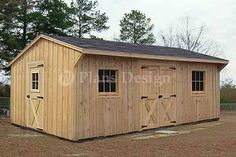 12 x 18 Saltbox Shed Plans