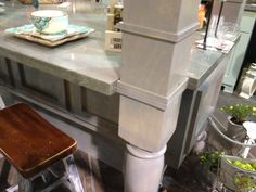 accent furniture color or kitchen island