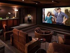 Home theater design available at Clear Audio Design, Charleston, WV.  Phone 304-721-2604.