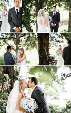 Nyk + Cali Wedding Photographers | Maryland | Wedding | Family Dairy Farm | Bride + Groom | First Look | Emotion | Candid | Navy | White |