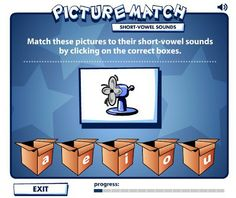 Short Vowels videos & games