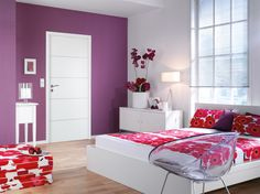 Jeld-Wen Linea Moulded Internal Door – Next Day Delivery Jeld-Wen Linea Moulded Internal Door from WorldStores: Everything For The Home Internal Doors, Exterior Doors, Stables, Home Furnishings, Blinds, Curtains, Contemporary, Bed, Interior