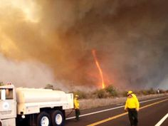 These natural manifestations are also spiritual manifestations of Pele's siblings with names of their own. The manifestations are both science. The context of their being is locked in cultural context. These Hawaii Island fire men are in the presence of Akua. #Sacred www.sta.cr/2q207
