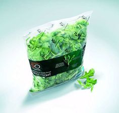 Major UK retailer Sainbury's is releasing its SO organic wild rocket salad in new biodegradable packaging. The packaging is made using Amcor NaturePlus compostable film.