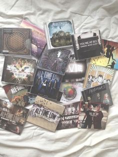 All Time Low, Pierce The Veil, Sleeping With Sirens, You Me At Six, Bring Me The Horizon, Fall Out Boy Albums