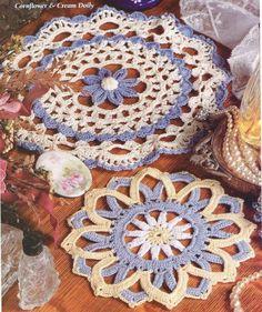 Two Doilies Crochet Pattern Instructions