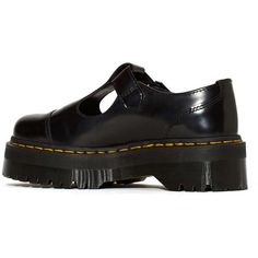 Dr. Martens Bethan Shoe (225 SAR) ❤ liked on Polyvore featuring shoes, creeper shoes, dr. martens, yellow leather shoes, tartan shoes and dr martens shoes