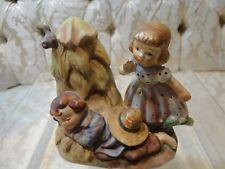"Lefton Nursery Rhyme ""Little Boy Blue"" figurine #1249"