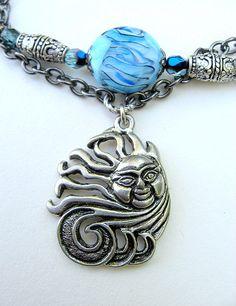 Wild is the Wind necklace Wild Is The Wind, Gypsy Moon, Moon Design, Boho Necklace, Turquoise Bracelet, Jewlery, Bohemian, Charmed, Bracelets