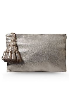 Make your wardrobe shine this spring with these metallic pieces.