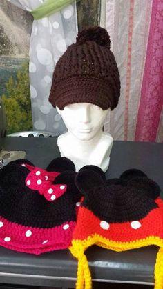 Gorros de miky Crochet Hats, Beanie, Fashion, Beanies, Art, Knitting Hats, Moda, Fashion Styles, Fashion Illustrations