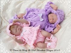 Angel Top & Nappy Cover Set 7-12 inch doll-
