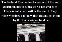 Who Owns The Federal Reserve? The Fed Privately Owned. Its Shareholders Private Banks