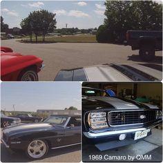 Classic 1969 Camaro Restomod by Quarter Mile Muscle.   #classiccamaro #custompaint #camaroperformance