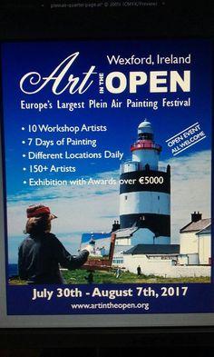 Workshops/Masterclasses booking up don't miss out Paint Pens, Festivals, Ireland, Workshop, Twitter, Places, Artist, Atelier, Paint Sticks