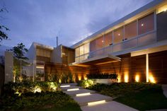 Bright Breezy House With Powerful Sculptural Volumes