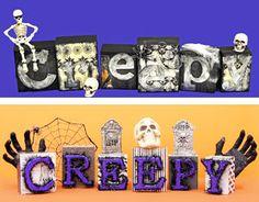 40 DIY Halloween Crafts